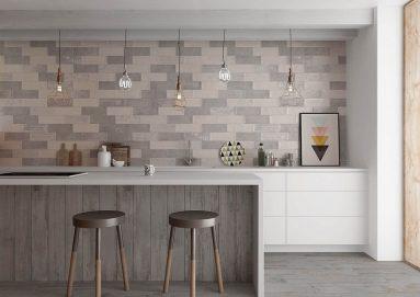 Плитка на стене в кухне