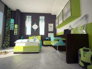 Дизайн комнаты для подростка - фото