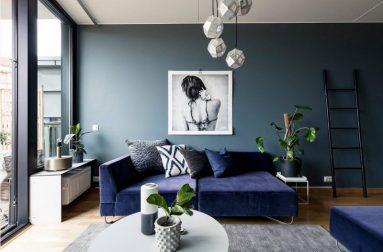 Серый и синий цвет фото