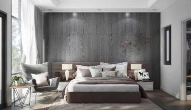 Серый в сочетании с другими цветами в спальни