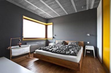 С чем сочетается серый цвет в спальне