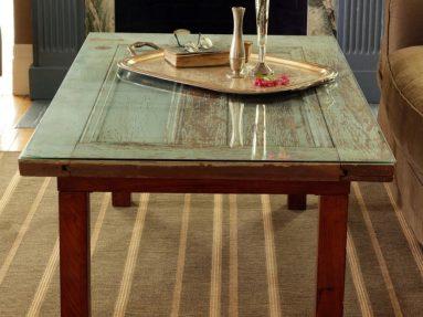 Декорирование деревянного стола своими руками