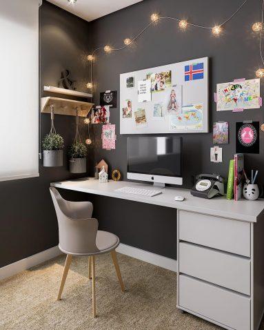 Декор письменного стола своими руками