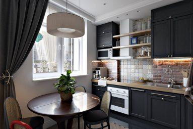 Дизайн кухни 9 квадратов