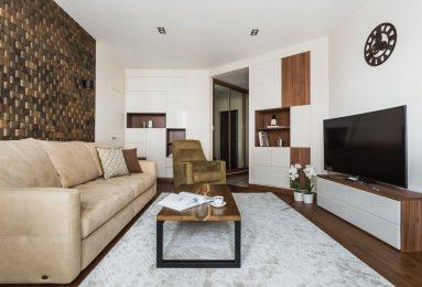 Дизайн гостиной в маленькой комнате