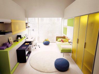 Стиль хай – тек в детской комнате