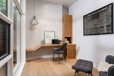 Интерьер небольшого кабинета