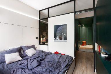 примеры дизайна однокомнатной квартиры 40 кв м