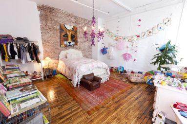 Комната для девочки в стиле лофт