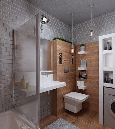 Туалет лофт