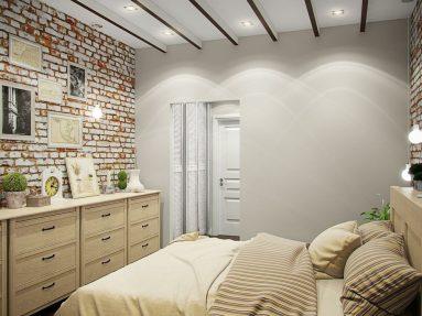 маленькой комнаты в стиле лофт