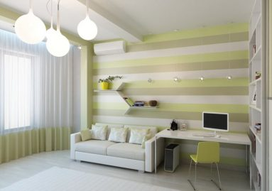 минимализм в комнате для девочки