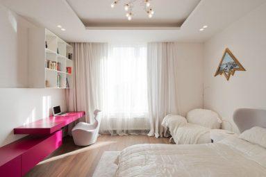 Стиль минимализм в комнате