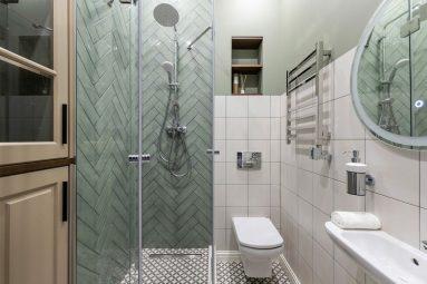 Дизайн маленькой ванной 2020