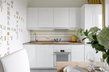 Какой гарнитур выбрать для кухни 9 кв. м