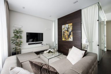 Дизайн маленькой комнаты в минимализм