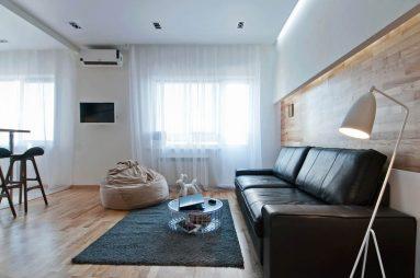 Дизайн однокомнатной квартиры 40 квадратных метров минимализм