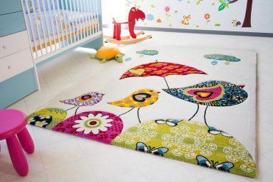Декоративный коврик в однушке