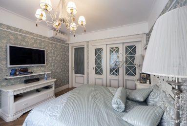 Спальня в дизайне двухкомнатной квартиры