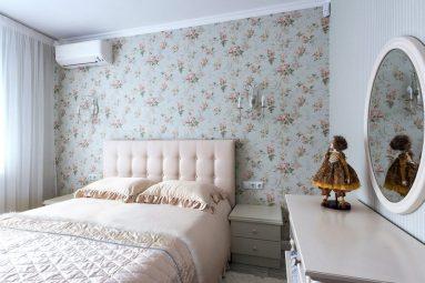 Интерьер маленькой комнаты в стиле прованс
