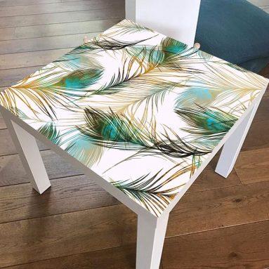 Роспись старого стола