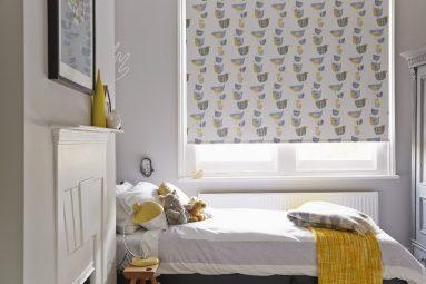 Рулонные шторы для комнаты небольшого размера