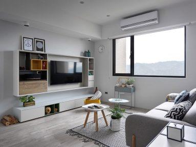 Дизайн маленькой комнаты в скандинавском