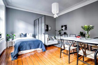 Дизайн квартиры 40 кв в скандинавском