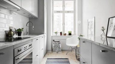 Дизайн небольшой комнаты в скандинавском