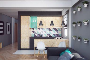 Однокомнатная квартира в современном