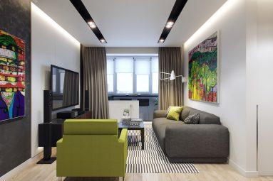 Дизайн маленькой комнаты в современном
