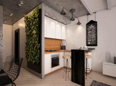 Вертикальное озеленения в квартире