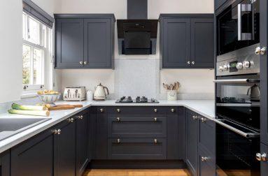 Дизайн темной кухни
