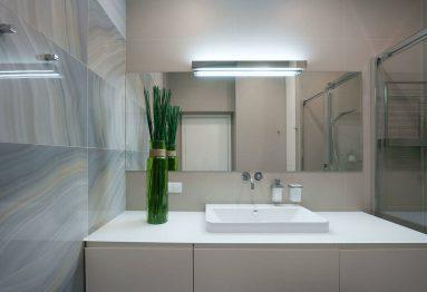 Ванная в двухкомнатной квартире