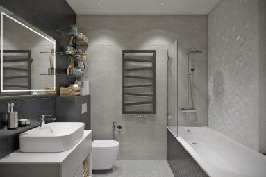 Дизайн ванной в двушке