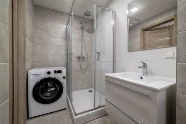 Интерьер ванной в двухкомнатной квартире