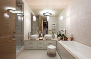 Фото ванной в двухкомнатной квартире