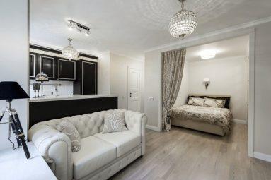 Как осуществить зонирование в двухкомнатной квартире